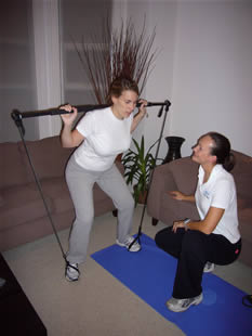 personal training with gymstick